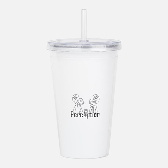 Perception Acrylic Double-wall Tumbler