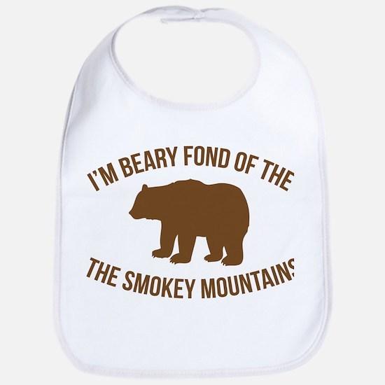 Beary Fond of the Smokey Mountains Bib