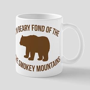 Beary Fond of the Smokey Mountains Mugs