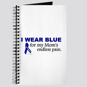I Wear Blue For My Mom's Pain Journal
