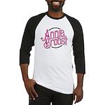 AB logo (pink print, black circle) Baseball Jersey