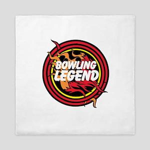 Bowling Legend Queen Duvet
