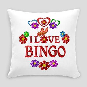 I Love Bingo Everyday Pillow