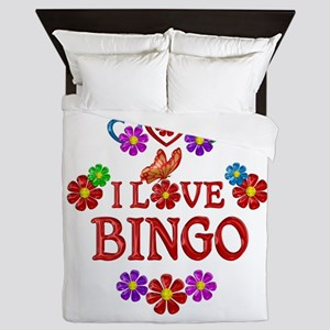 I Love Bingo Queen Duvet