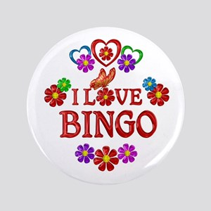 I Love Bingo Button