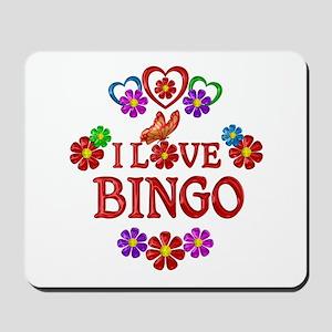 I Love Bingo Mousepad
