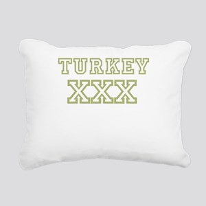 Turkey XXX Rectangular Canvas Pillow