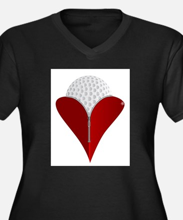 Love Golf Plus Size T-Shirt
