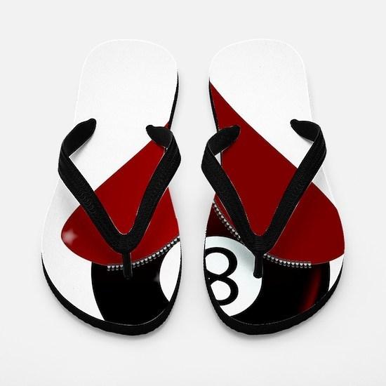 Zipper opened Flip Flops