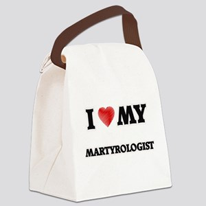 I love my Martyrologist Canvas Lunch Bag