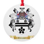 Tolomei Round Ornament