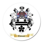 Tolomei Round Car Magnet
