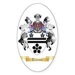 Tolomei Sticker (Oval)