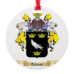 Tolman Round Ornament