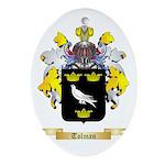 Tolman Oval Ornament
