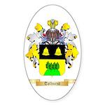 Tolhurst Sticker (Oval 50 pk)