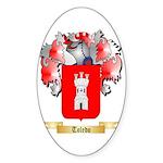 Toledo Sticker (Oval 10 pk)