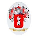 Toledo Oval Ornament