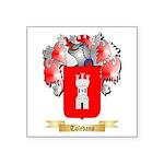 Toledano Square Sticker 3