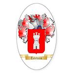 Toledano Sticker (Oval 50 pk)