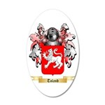 Toland 20x12 Oval Wall Decal