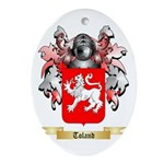 Toland Oval Ornament