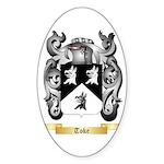 Toke Sticker (Oval 50 pk)