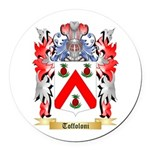 Toffoloni Round Car Magnet