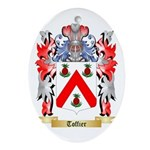 Toffier Oval Ornament