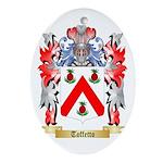 Toffetto Oval Ornament