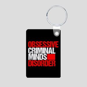 Criminal Minds Obsession Aluminum Photo Keychain