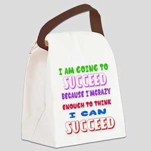 Positive Thought Designs Canvas Lunch Bag