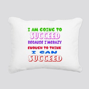 Positive Thought Designs Rectangular Canvas Pillow