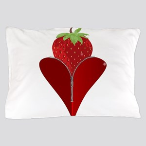 Love Strawberry Pillow Case
