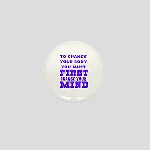 Positive Thought Designs Mini Button