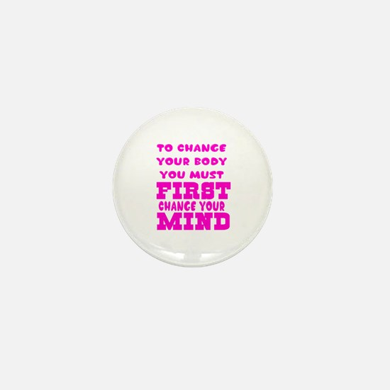 Positive Thought Designs Mini Button