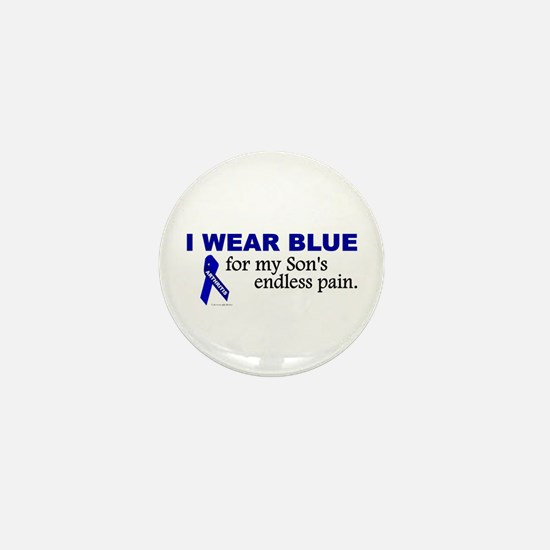 I Wear Blue For My Son's Pain Mini Button