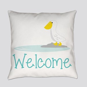 Pelican Welcome Everyday Pillow
