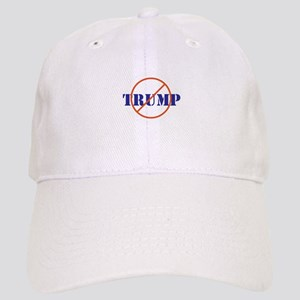 Anti Trump, no Trump Baseball Cap