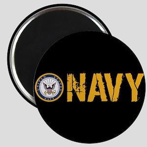 U.S. Navy: Navy (Black) Magnet