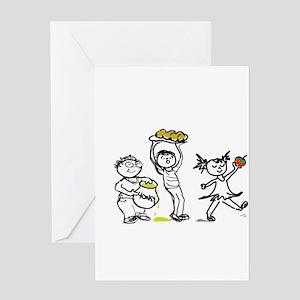 Jewish Kids Greeting Card