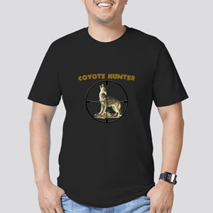 COYOTE HUNTER Men's Fitted T-Shirt (dark)