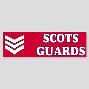 Scots Guards LSgt Bumpersticker 1