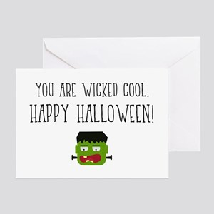 You Are Wicked Cool. Happy Halloween! Greeting Car