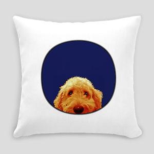 Golden Doodle Everyday Pillow