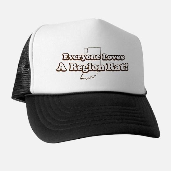 Everyone Loves A Region Rat Trucker Hat