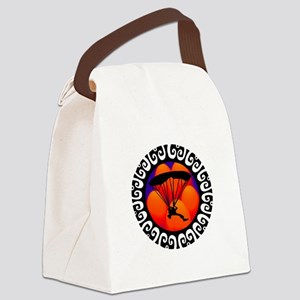 SKYDIVING Canvas Lunch Bag