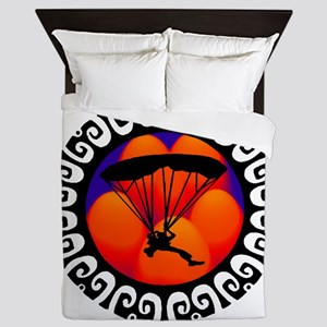 SKYDIVING Queen Duvet