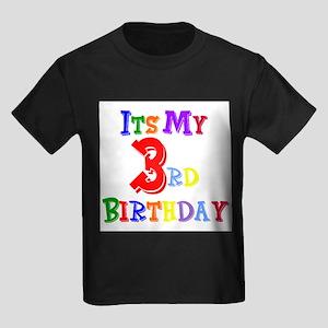 3rd Birthday Kids T-Shirt