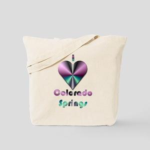 I Love Colorado Springs #2 Tote Bag